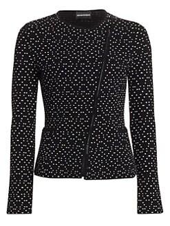 a138cfa21b Emporio Armani | Women's Apparel - Coats & Jackets - Blazers - saks.com