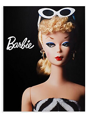 Image of Barbie's story is a journey through six decades of social culture, inspired by the vision and tenacity of one woman, Ruth Handler, who dared to pursue her personal dreams in the face of hardship and opposition. Featuring an in-depth and witty text, Barbie