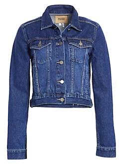 9c46c8c05cd3 Women's Apparel - Coats & Jackets - Denim Jackets - saks.com