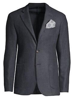 5dbe0eb2f33 Men - Apparel - Sportscoats & Blazers - saks.com