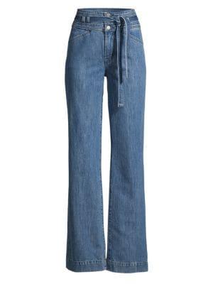 2956cc971 J Brand - Jules High-Rise Straight Jeans - saks.com