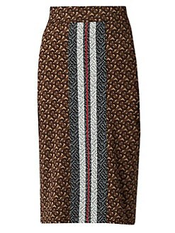d576b3dc53 QUICK VIEW. Burberry. Monogram Jemmi Knit Pencil Skirt