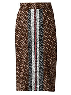 c2e44074b QUICK VIEW. Burberry. Monogram Jemmi Knit Pencil Skirt