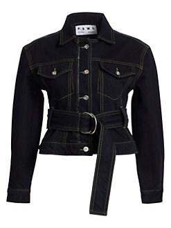 frame denim le patch pocket jacket