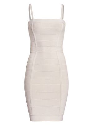 Herve Leger Sleeveless Mini Bandage Bodycon Dress