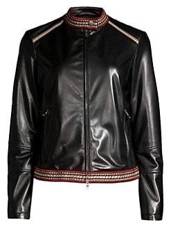 50a4672eea2 Women's Apparel - Coats & Jackets - Leather & Faux Leather - saks.com