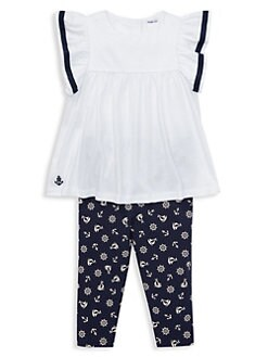 Baby & Toddler Clothing Baby Boy Trousers Joggers Junior J 6-9 Months Blue White Yet Not Vulgar