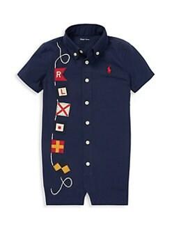 6c8c40470 Ralph Lauren. Baby Boy's Novelty Shortall