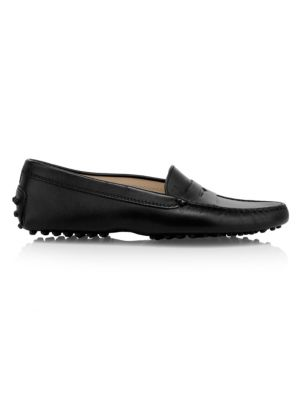 Tod S Core Gommini Leather Driver Loafers