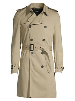 6ca52770f9 Double-Breasted Trench Coat BEIGE. QUICK VIEW. Product image