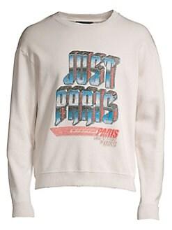 b83b13277c2 QUICK VIEW. The Kooples. Long-Sleeve Graphic Print Sweatshirt