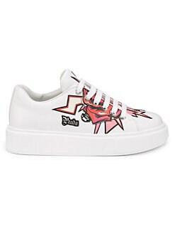 658839bd01e8c2 QUICK VIEW. Prada. Platform Low-Top Leather Sneakers