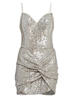 9cb6ce66f4 QUICK VIEW. Magda Butrym. Knotted Sequin Cocktail Dress