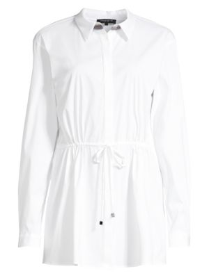 Lafayette 148 New York Lisa Drawstring Blouse