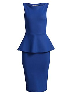 36055f6b1ec Chiara Boni La Petite Robe. Nabira Peplum Sheath Dress
