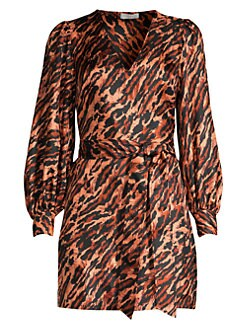 f09a2ba56d564 Sandro. Lunas Leopard Mini Dress
