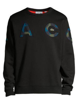 Lacoste Camo Letters Sweatshirt