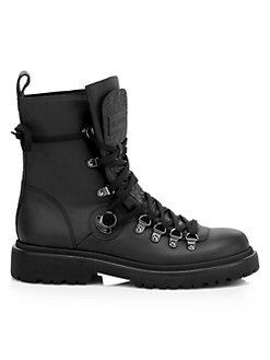 76317aa92dcd Berenice Leather Combat Boots BLACK. QUICK VIEW. Product image