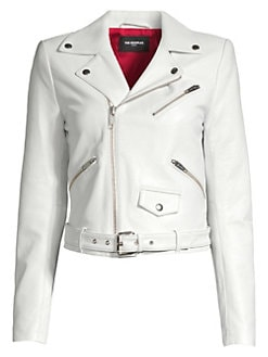 11e2cb2f9f0 Product image. QUICK VIEW. The Kooples. Asymmetric Leather Moto Jacket