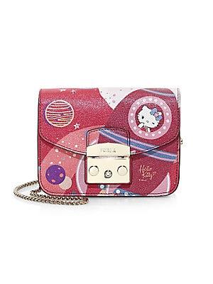 4575832f6 Furla - Hello Kitty Mini Leather Crossbody Bag - saks.com