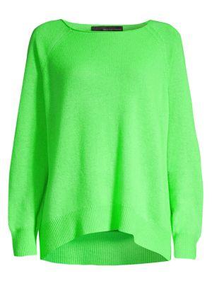 360cashmere Jolene Neon Cashmere Pullover