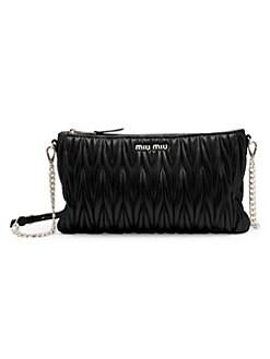 6d7126acc9643 Product image. QUICK VIEW. Miu Miu. Matelassé Leather Shoulder Bag
