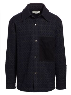 Acne Studios Osman Vichy Check Twill Jacket