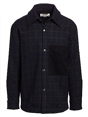 Osman Vichy Check Twill Jacket by Acne Studios