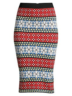 ac696474c Product image. QUICK VIEW. Alice + Olivia. Morena Print Pencil Skirt