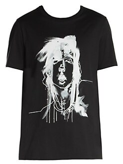 9c487d53 Neil Barrett. Mouth Julie Verhoeven Cotton Tee
