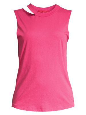 N Philanthropy Hollywood Cut Out Jersey Tank Top