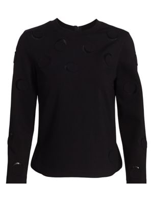 Akris Punto Luna Cutout Top