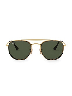09a08f959d QUICK VIEW. Ray-Ban. 54MM Tortoiseshell Aviator Sunglasses