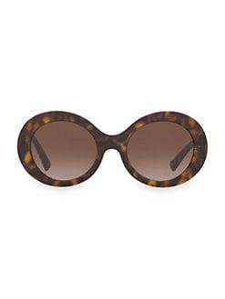 e02478fd5846 Product image. QUICK VIEW. Valentino. Allure 52MM Retro Round Sunglasses
