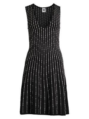 M Missoni Knit Fit Flare Dress