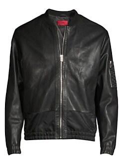 5e8c4d628da Leather Jackets & Shearling Coats For Men | Saks.com