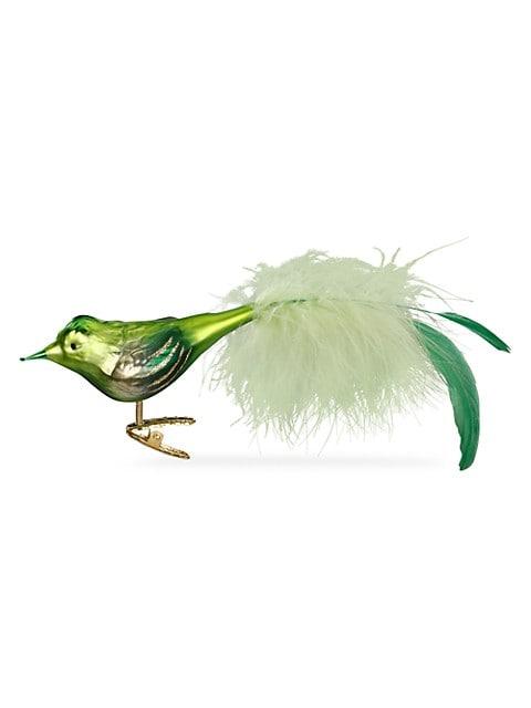 Bird Glass Ornament