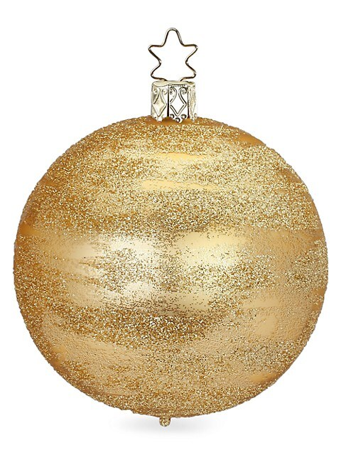 Glittering Glass Ball Ornament