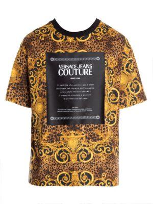 16b87c2b6 Versace Jeans Couture - Leo Baroque Print Reversible Bomber - saks.com