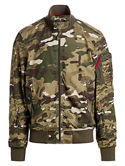 19b4a1b9e6a Product image. QUICK VIEW. G-Star RAW. Camouflage Bomber Jacket