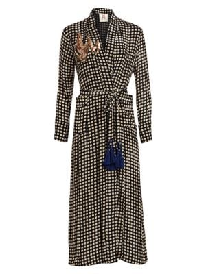 Figue Olatz Polka Dot Duster Coat