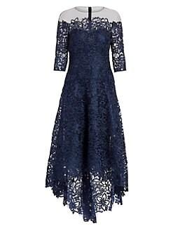 43e8a9d38a QUICK VIEW. Teri Jon by Rickie Freeman. Floral Lace A-Line Dress