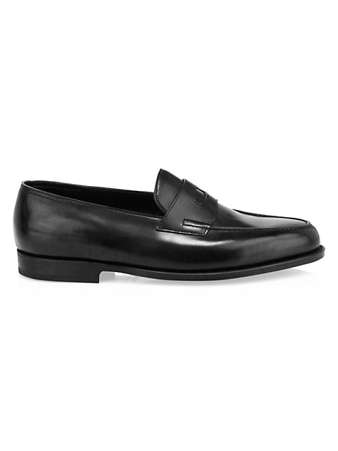 Lopez Leather Penny Loafers