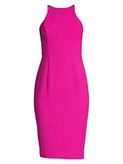 8e3540eb4378 QUICK VIEW. Black Halo. Montego Halter Sheath Dress