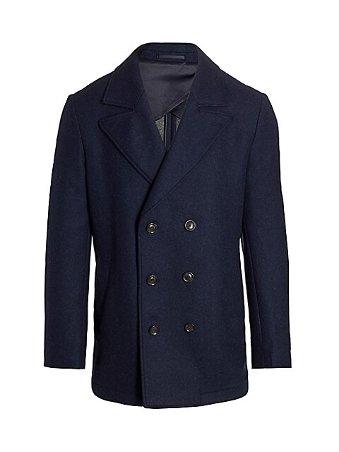 COLLECTION Double-Breasted Peacoat