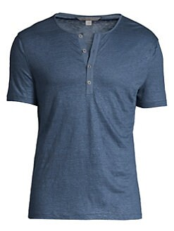 a972837115bf6 Product image. QUICK VIEW. John Varvatos Star U.S.A.. Linen Henley Tee