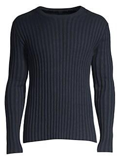 94d87017df3 John Varvatos Star U.S.A.. Wide Rib Sweater