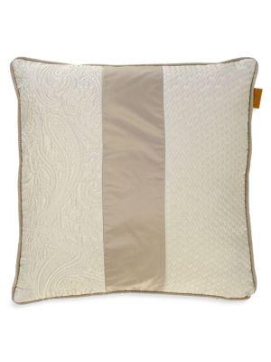 Etro Miyake Wool Silk Blend Jacquard Cushion