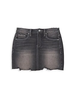 5465c05d4 Blank NYC. Girl's Destroyed Denim Skirt