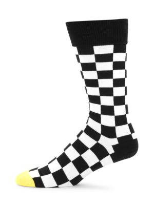 Paul Smith Checker Board Crew Socks